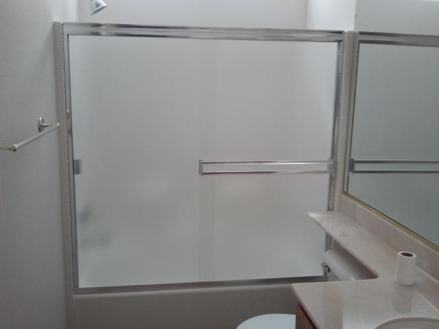 frameless bypass doors standard
